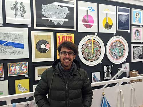 Bayprints, baiona, diseseño de Tirso Sánchez Otaegui. Bayprints, baiona, diseseño de Tirso Sánchez Otaegui. WE BUILT THIS CITY, CARNABY STREET, London.