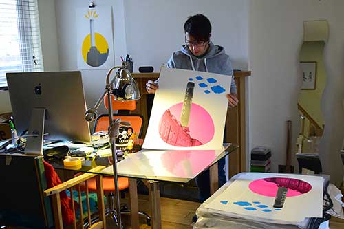 Bayprints, baiona, diseseño de Tirso Sánchez Otaegui
