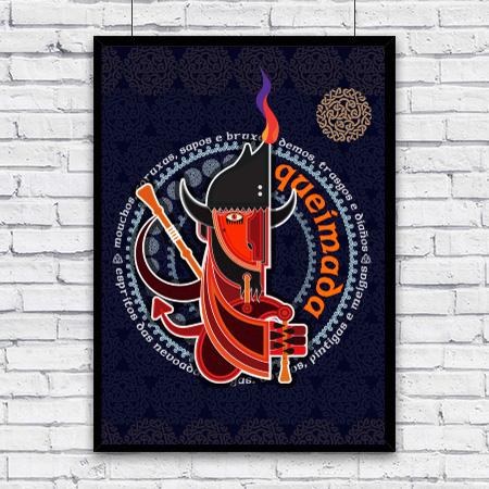Bayprints, queimada póster.