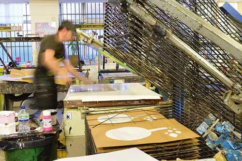 Bayprints Baiona, Taller de impresión, London Print Club. Serigrafías manuales de edición limitada.