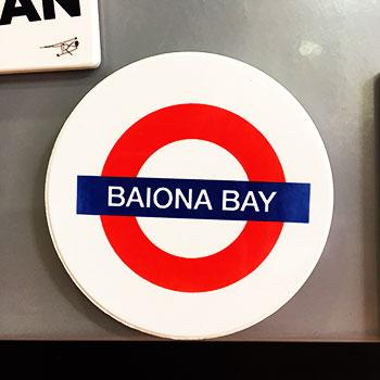 Bayprints Baiona, Baiona Bay, diseño de Tirso Sánchez Otaegui