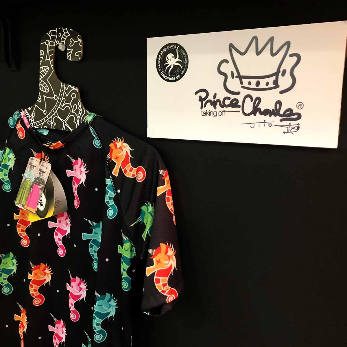 prince charles camiseta prenda fitness camisetas baiona souvenirs souvenir shop baiona tienda regalos baiona sounirs creativos originales bayprints baiona