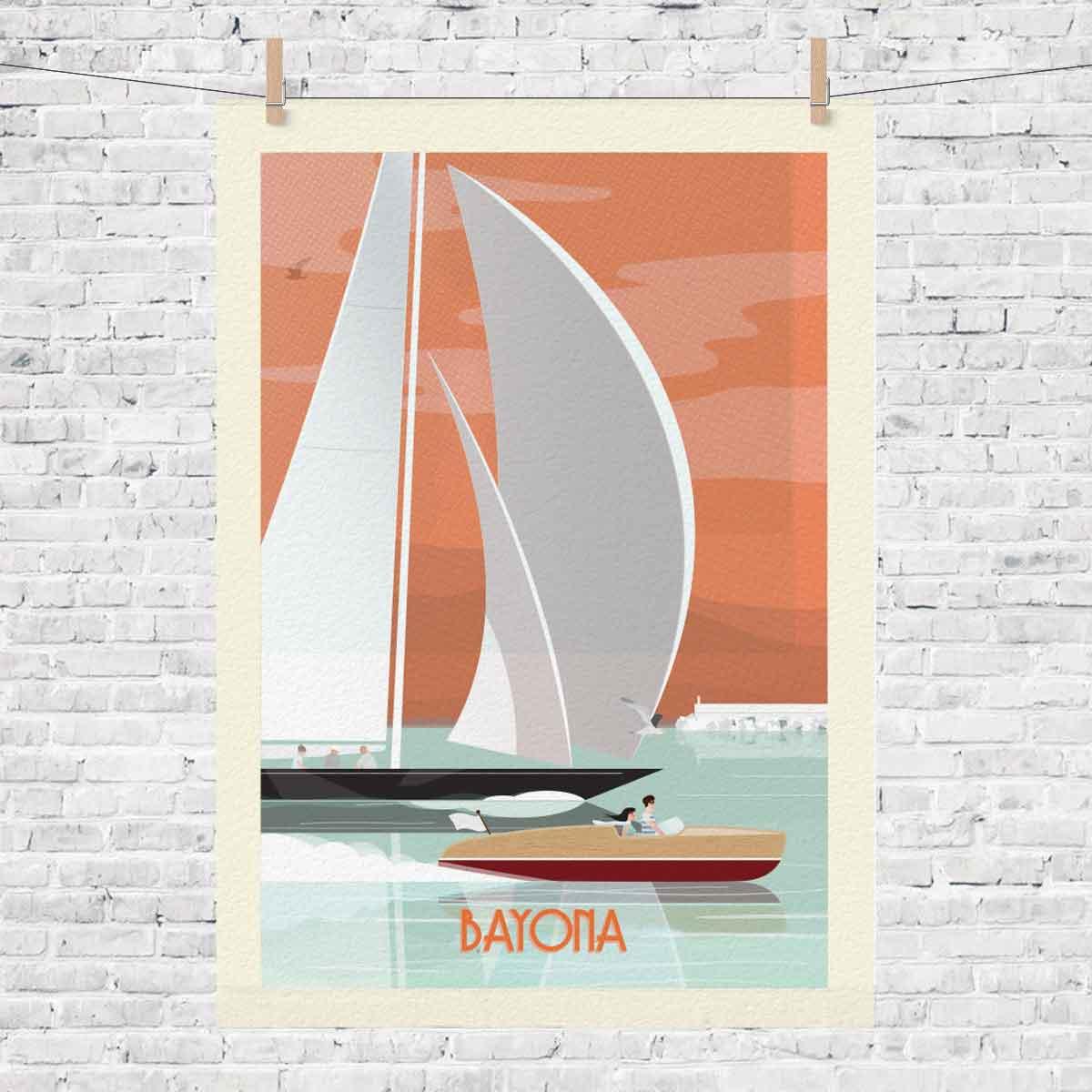 baiona_bayona_lamina_barcos_camiseta_regalo_bayprints_souvinir_shop_tienda_souvenirs_baiona_souvenart_shop