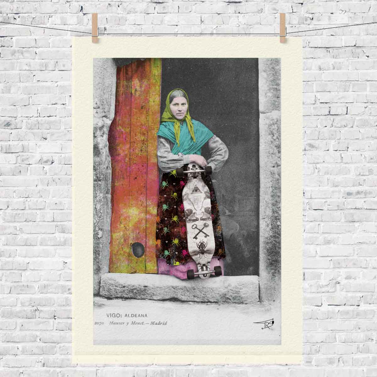baiona_lamina_camiseta_regalo_mujer_postal_lamina_skate_bayprints_souvenir_shop_tienda_souvenirs_baiona_souvenart_shop