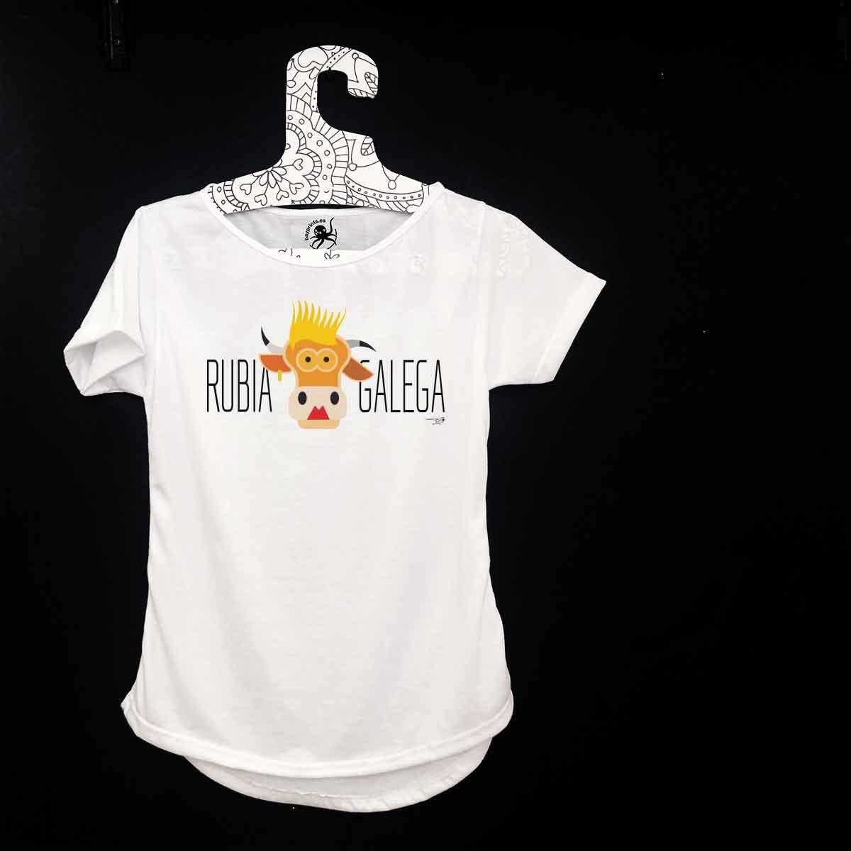 camiseta sudadera rubia galega rubia gallega camiseta online souvenirs originales singulares creativos baiona bayprints souvenir shop baiona souvenart shop camiseta galicia